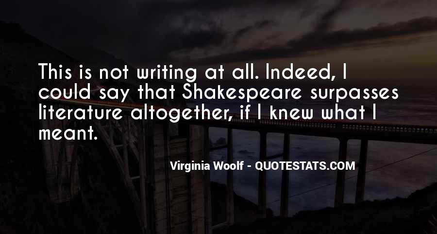 Shakespeare On Writing Quotes #1209997