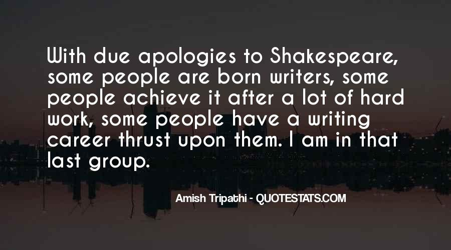 Shakespeare On Writing Quotes #178343