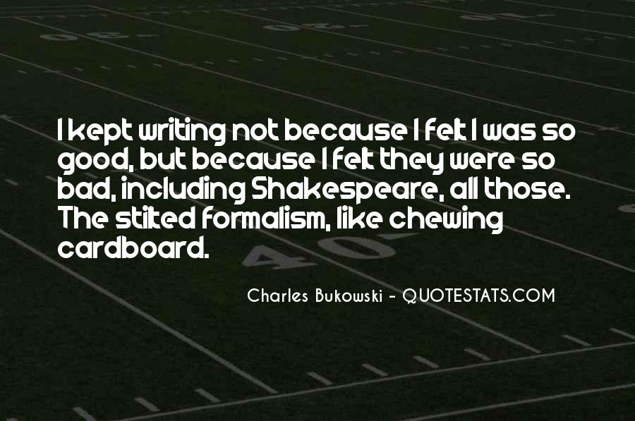 Shakespeare On Writing Quotes #307485
