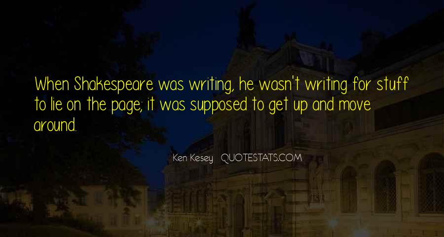 Shakespeare On Writing Quotes #332856