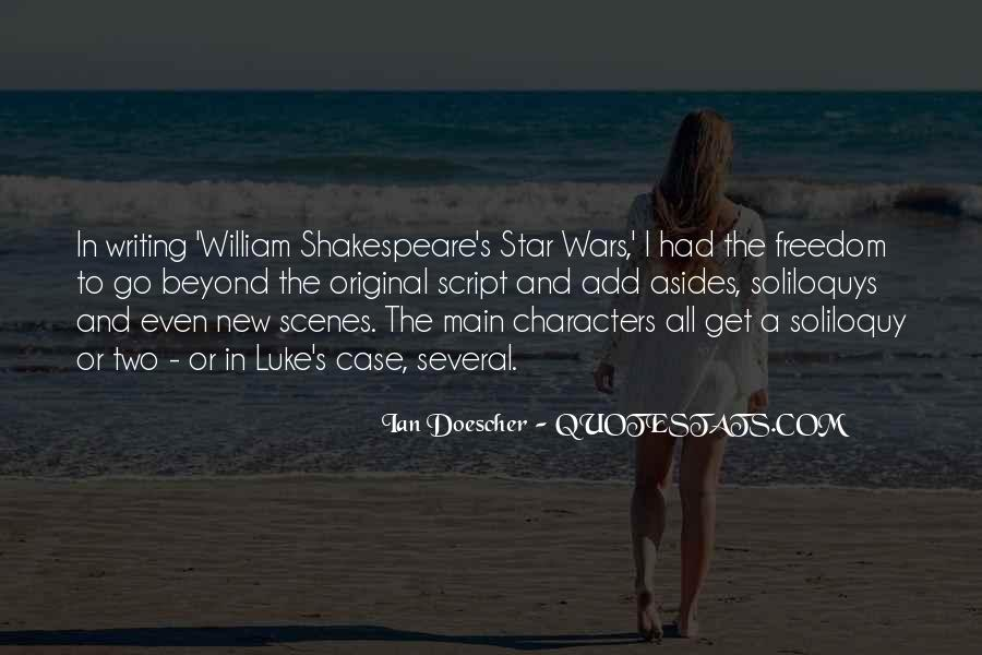 Shakespeare On Writing Quotes #351197