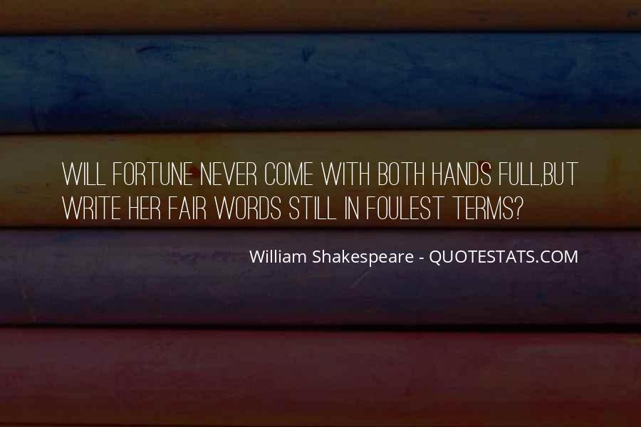 Shakespeare On Writing Quotes #445417