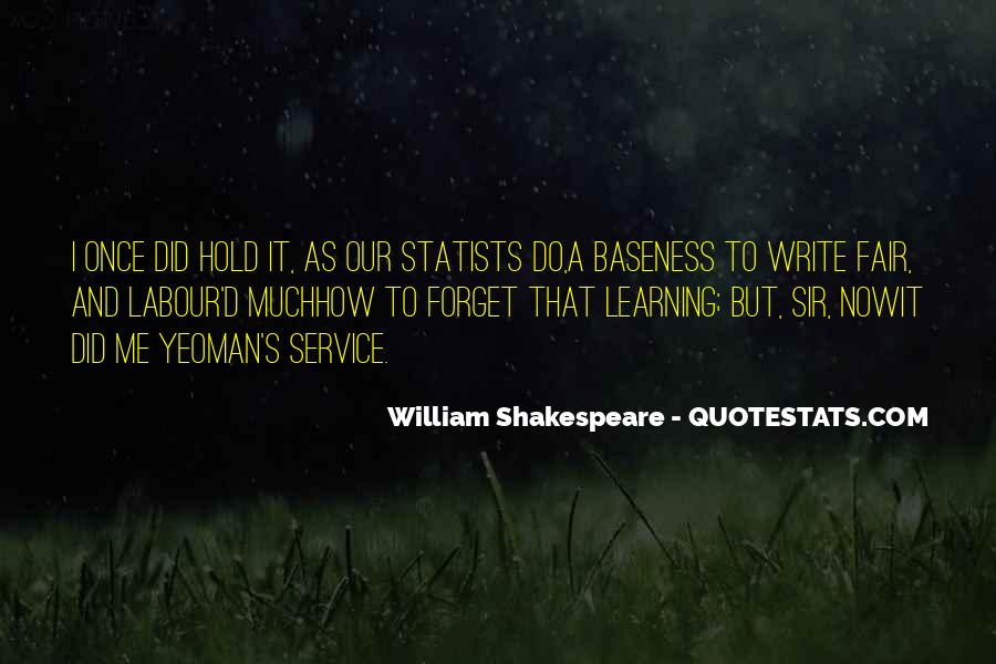 Shakespeare On Writing Quotes #649654
