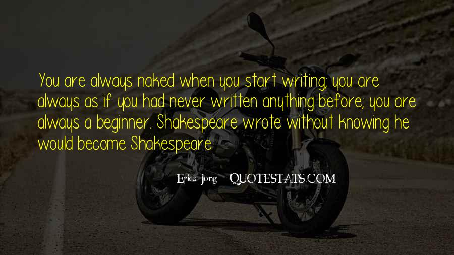 Shakespeare On Writing Quotes #687596