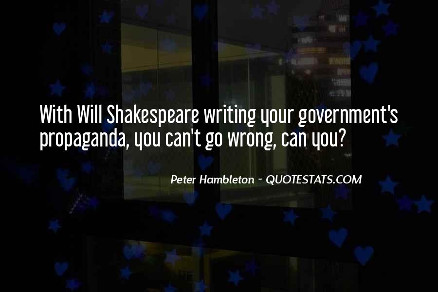 Shakespeare On Writing Quotes #717085