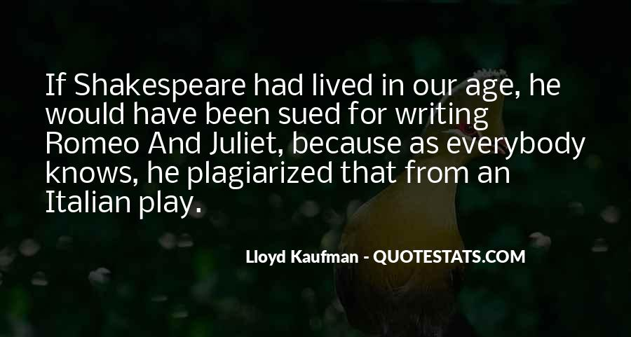 Shakespeare On Writing Quotes #731657