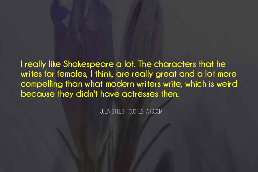 Shakespeare On Writing Quotes #89928