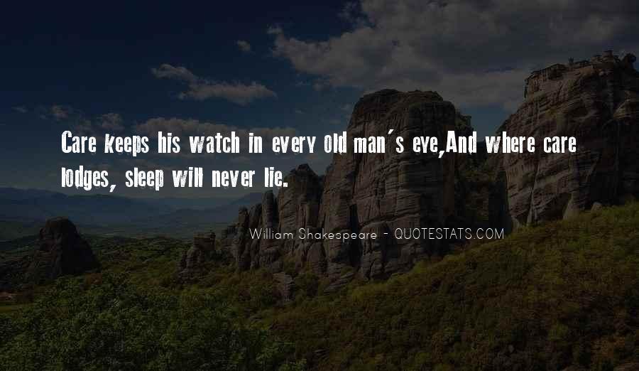 Shakespeare Sleep Quotes #1004853