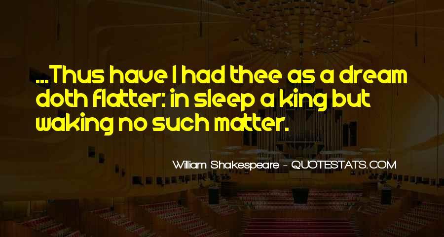Shakespeare Sleep Quotes #1007092