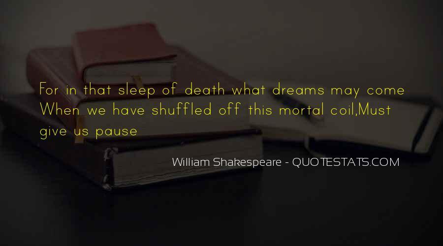 Shakespeare Sleep Quotes #106288