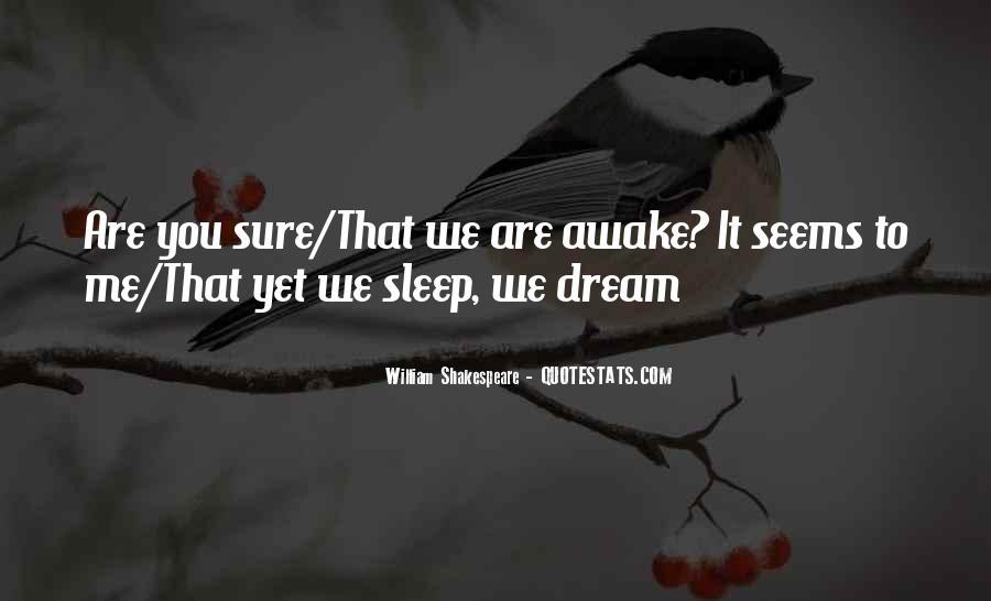 Shakespeare Sleep Quotes #1066343
