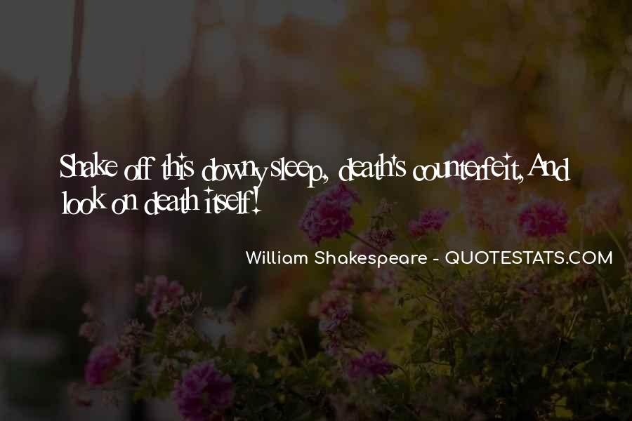 Shakespeare Sleep Quotes #1113629