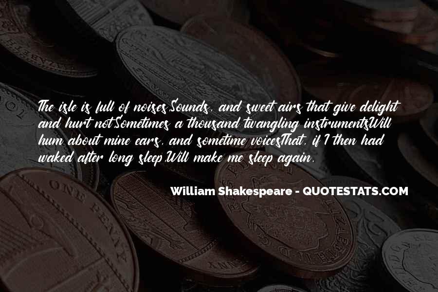 Shakespeare Sleep Quotes #119317