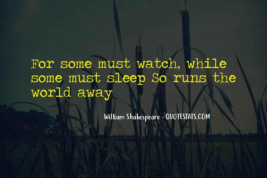 Shakespeare Sleep Quotes #1200616
