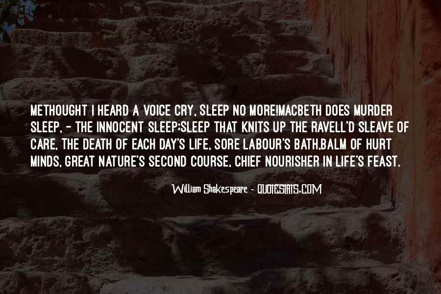 Shakespeare Sleep Quotes #1239019