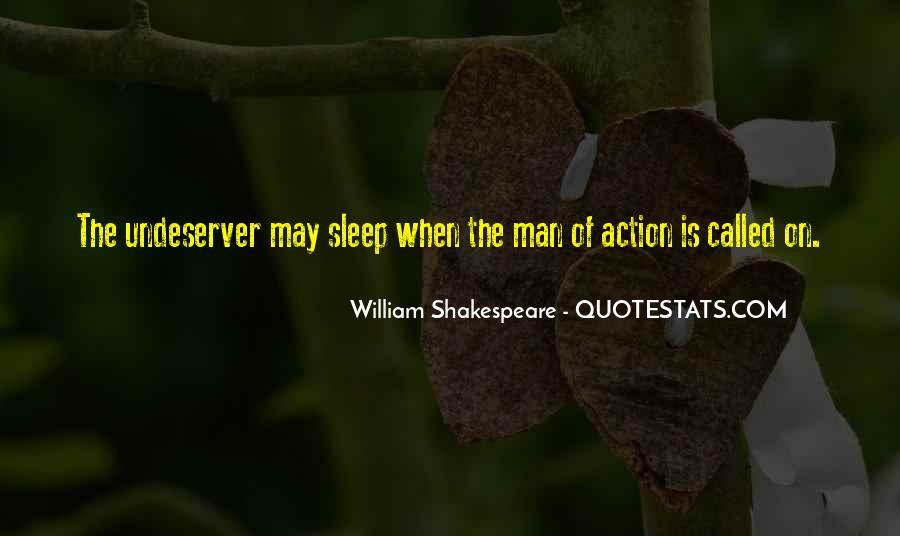 Shakespeare Sleep Quotes #1273196