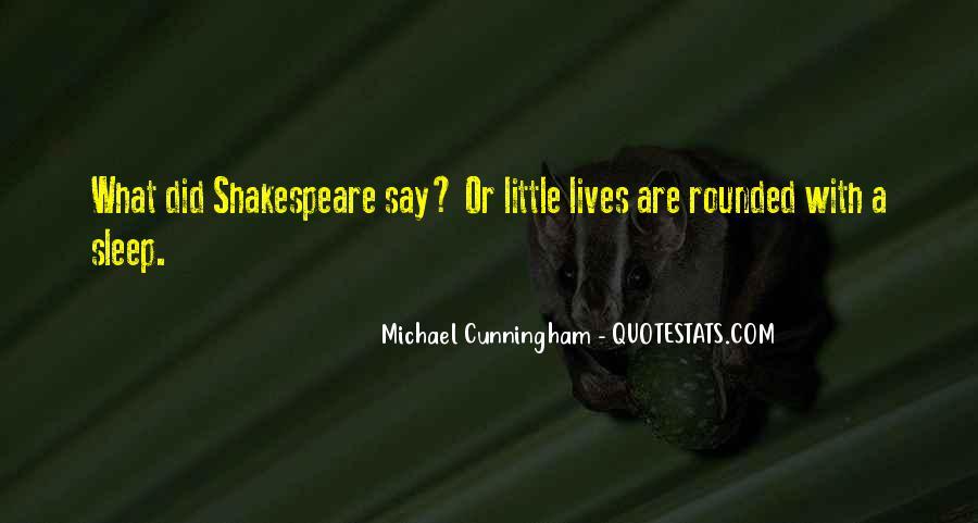 Shakespeare Sleep Quotes #1384184