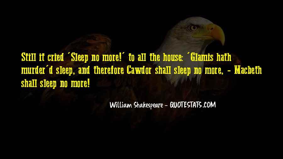 Shakespeare Sleep Quotes #1423406