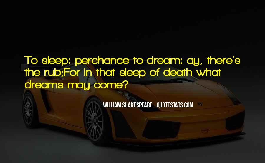 Shakespeare Sleep Quotes #1534746