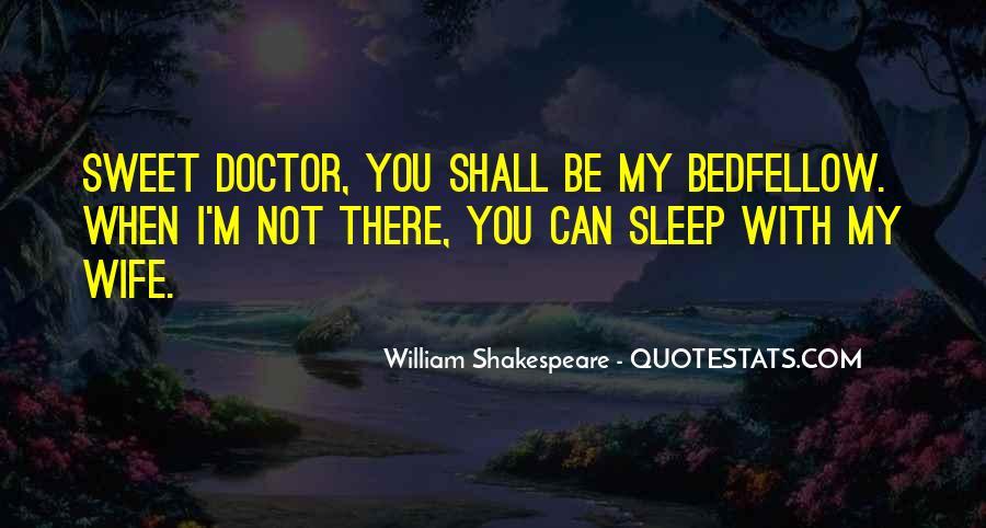 Shakespeare Sleep Quotes #1607928
