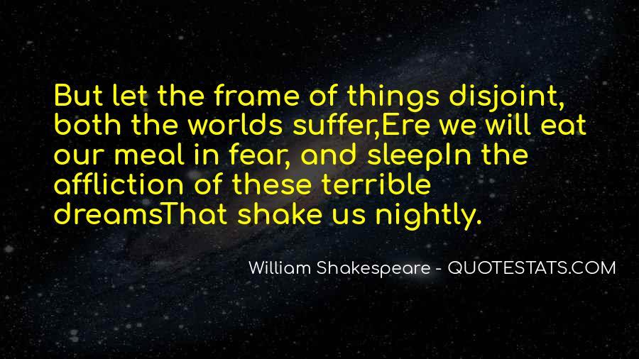 Shakespeare Sleep Quotes #17028