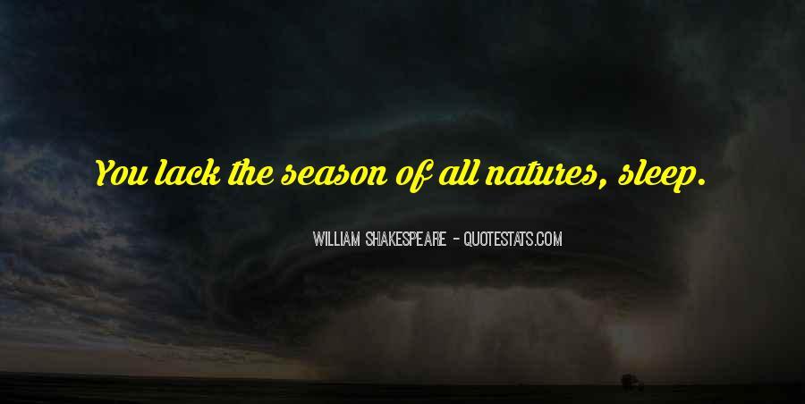 Shakespeare Sleep Quotes #1713168