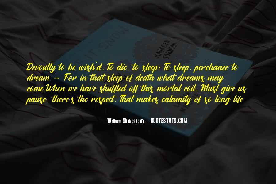 Shakespeare Sleep Quotes #1768116
