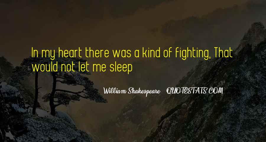 Shakespeare Sleep Quotes #252292