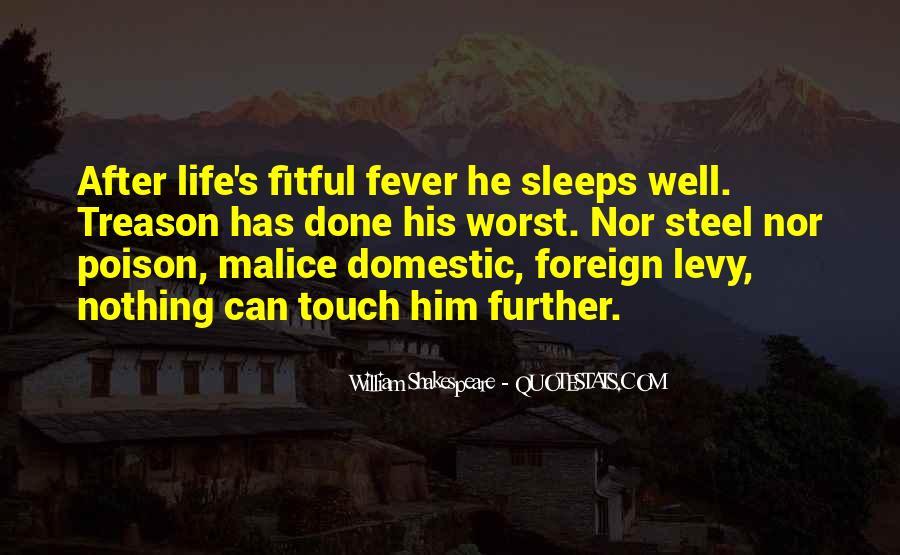 Shakespeare Sleep Quotes #346526