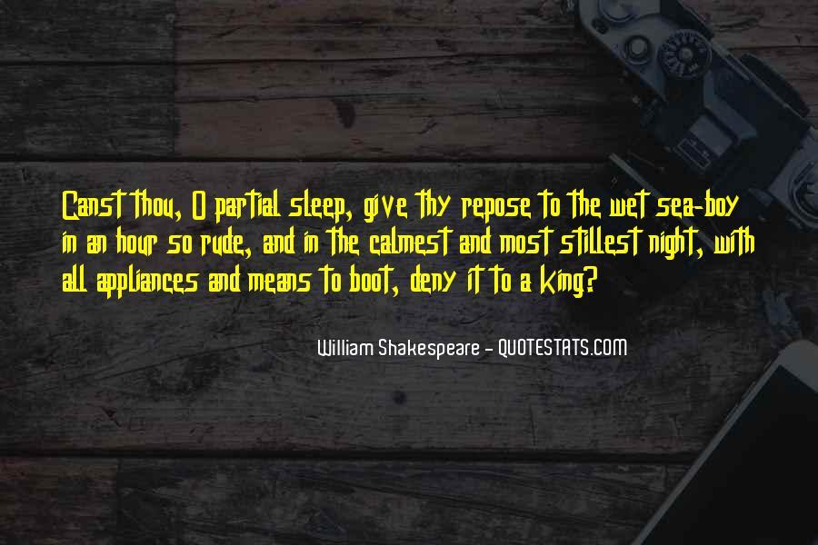Shakespeare Sleep Quotes #3582