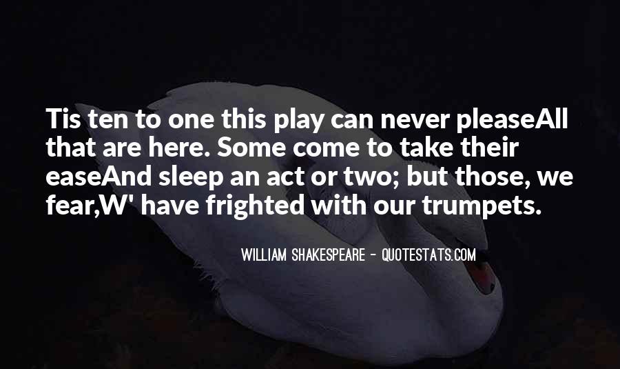 Shakespeare Sleep Quotes #448813