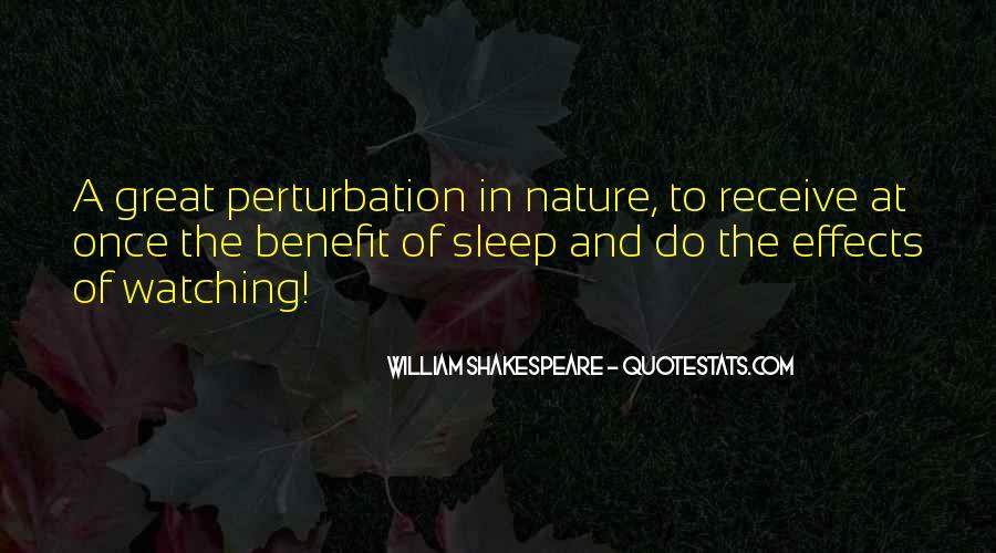 Shakespeare Sleep Quotes #542056