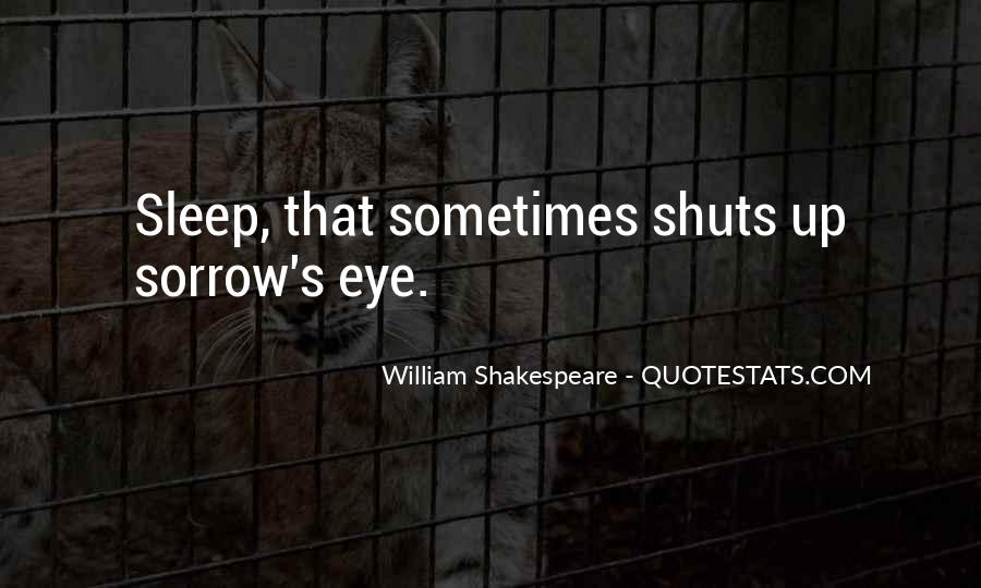 Shakespeare Sleep Quotes #669775