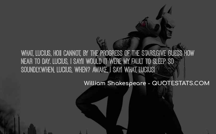Shakespeare Sleep Quotes #743157