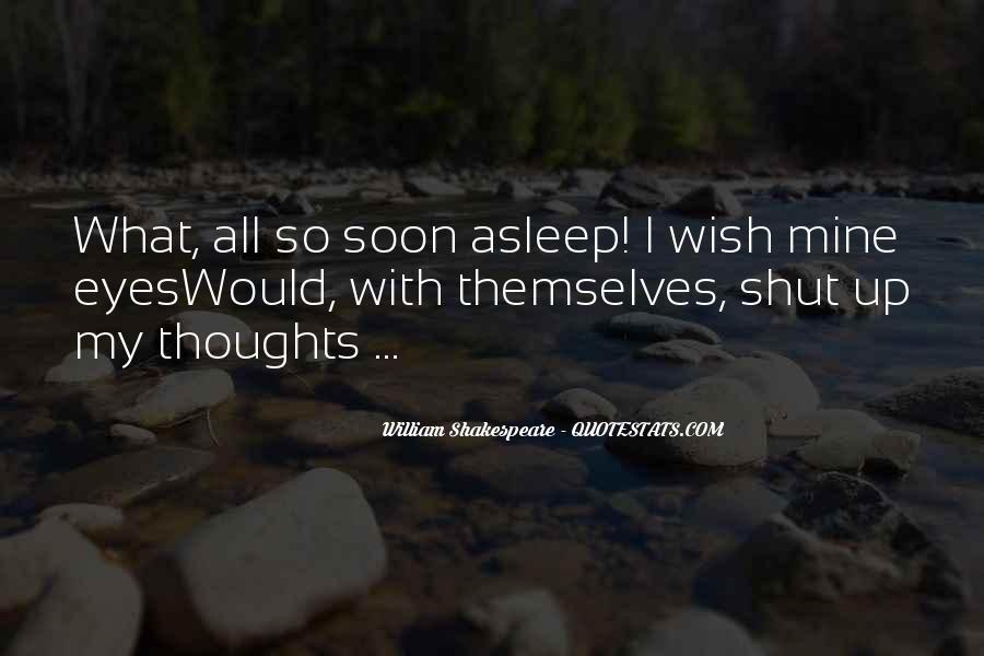 Shakespeare Sleep Quotes #766519