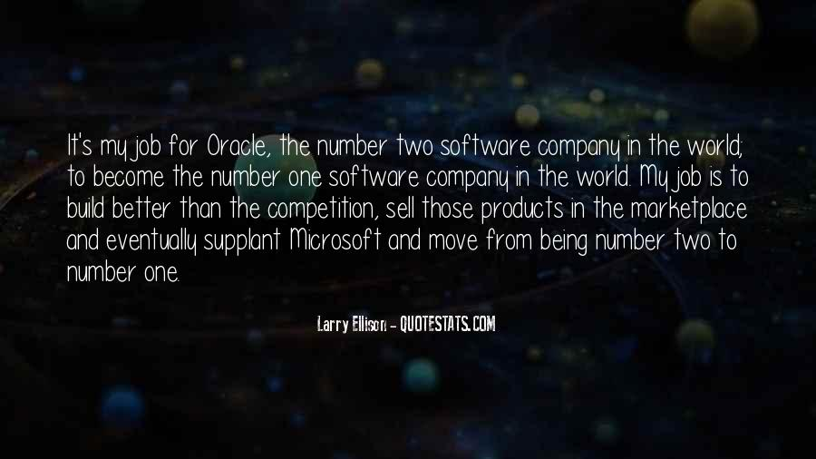 Quotes About Larry Ellison #124743