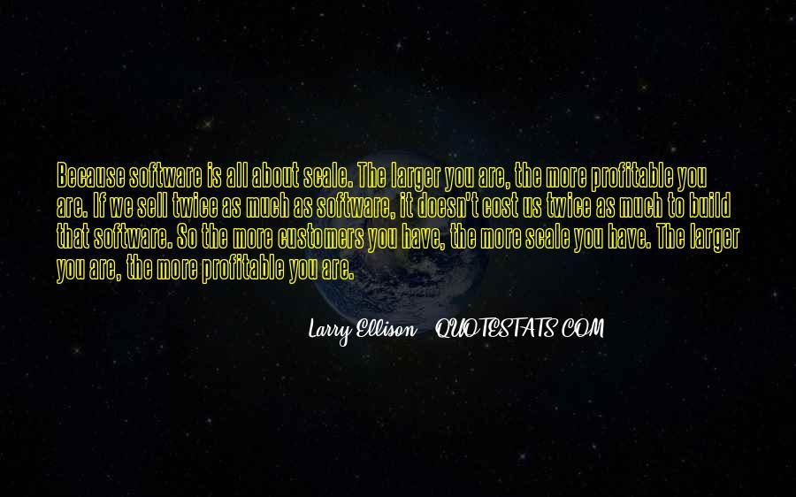 Quotes About Larry Ellison #1353056