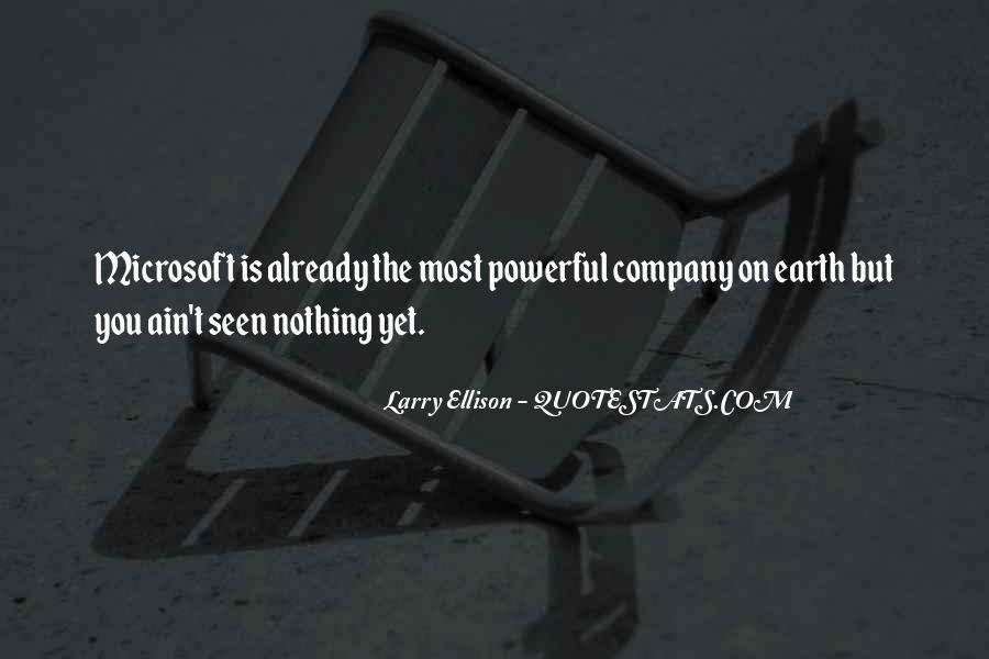 Quotes About Larry Ellison #1464267