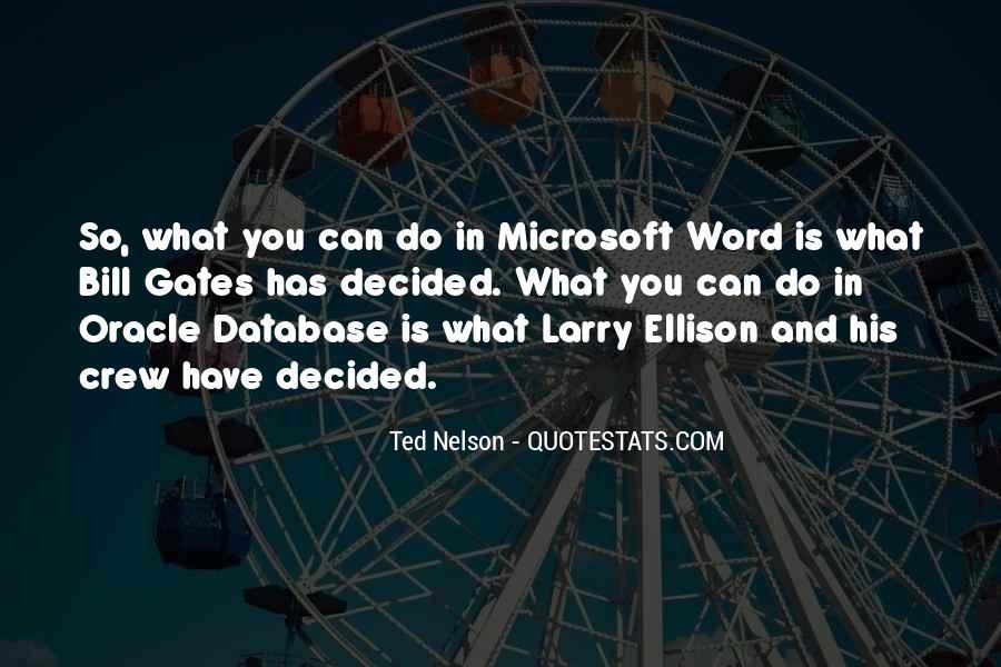 Quotes About Larry Ellison #152149