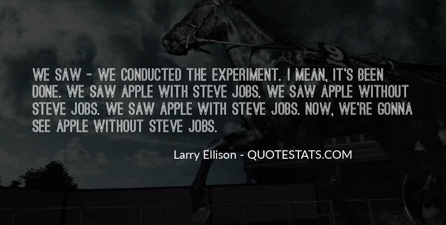 Quotes About Larry Ellison #1541505