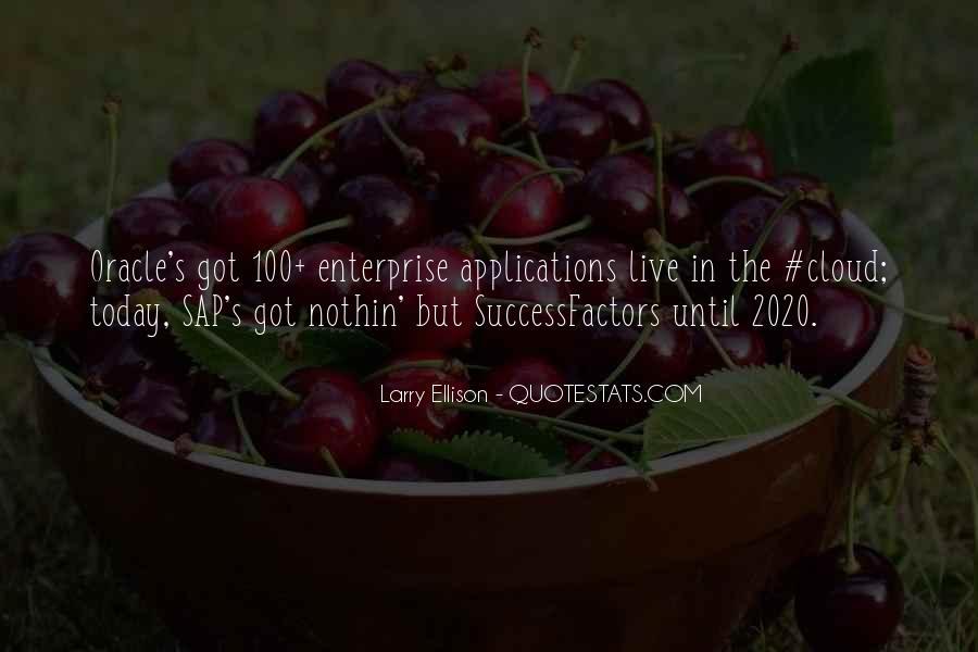 Quotes About Larry Ellison #1658413