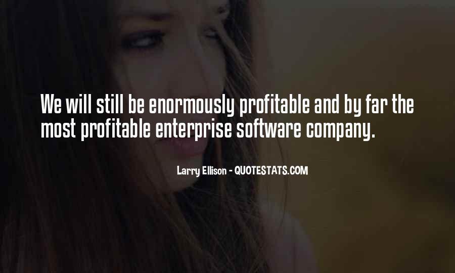 Quotes About Larry Ellison #652655
