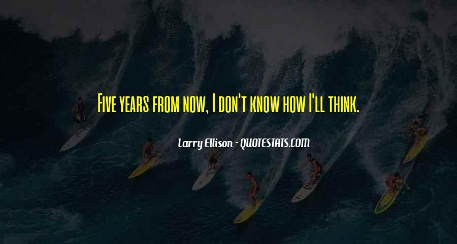 Quotes About Larry Ellison #684896