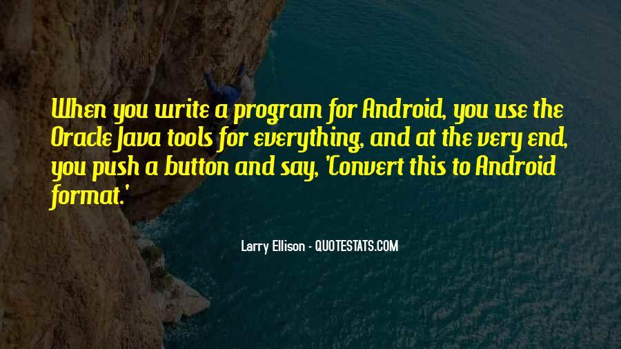 Quotes About Larry Ellison #951988