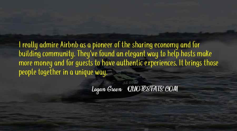 Sharing Economy Quotes #566677