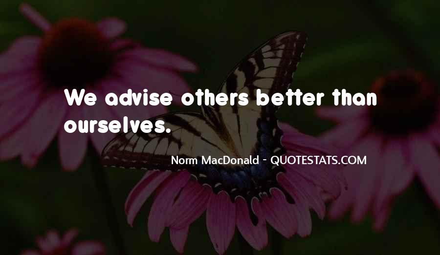 Quotes About Advise #130528