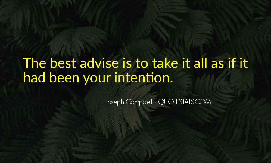 Quotes About Advise #207819