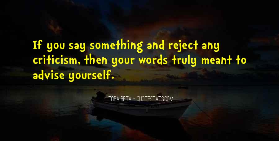 Quotes About Advise #352039