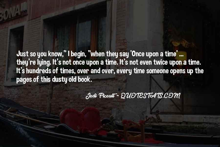 Quotes About Once Upon A Time #90525