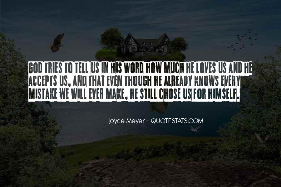 She Chose Him Quotes #13438